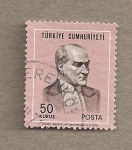 Sellos de Asia - Turquía -  Kemal Atartürk