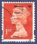 Stamps United Kingdom -  UK QEII 1st