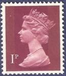 Stamps United Kingdom -  UK QEII 1