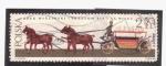 Stamps Poland -  carruaje s. XIX- XX