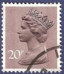 Stamps United Kingdom -  UK QEII 20