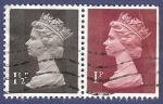 Stamps United Kingdom -  UK QEII pareja 1,50/1 (1)