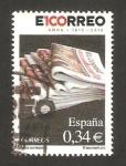 Sellos de Europa - España -  centº del diario El Correo