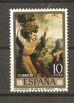 Stamps Spain -  Luis de Morales.