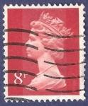 Stamps United Kingdom -  UK QEII 8