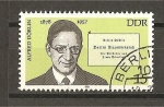 Stamps Germany -  Alfred Doblin.