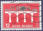 Stamps Belgium -  BÉLGICA Europa CEPT 1984 12