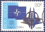 Sellos del Mundo : America : Bélgica :  BÉLGICA 30 años de la OTAN 30