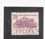 Stamps Poland -  palacio
