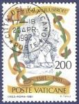 Sellos de Europa - Vaticano -  VAT B. Jan Van Ruusbroec 200