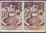 Sellos de Europa - Vaticano -  VAT Posta aérea 500 doble