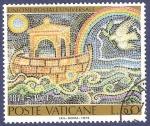 Stamps Vatican City -  VAT Unione Postale Universale 50