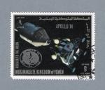 Sellos de Asia - Yemen -  Apolo XIV