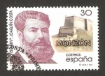 Sellos de Europa - España -  3446 - 150 anivº del nacimiento de joaquin costa
