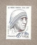 Stamps France -  Madre Teresa de Calcuta