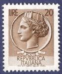 Sellos de Europa - Italia -  ITA Básica 20