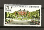 Sellos de Europa - Alemania -  Jardines de estilo barroco de la RDA (DDR)