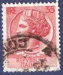 Stamps Italy -  ITA Básica 35