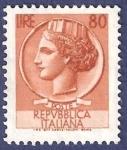 Sellos de Europa - Italia -  ITA Básica 80