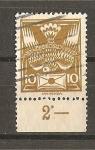 Sellos de Europa - Checoslovaquia -  Serie Basica.- Con bandeleta.