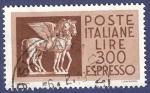 Stamps Italy -  ITA Pegasos 300 (2)