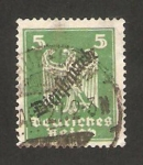 Stamps Germany -  349 - Nueva águila heráldica