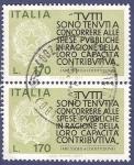 Sellos de Europa - Italia -  ITA Costituzione 170 doble