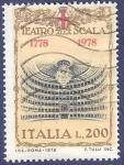 Sellos de Europa - Italia -  ITA Teatro alla Scala Milán 200