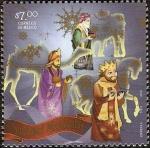 Stamps : America : Mexico :  Navidad Mexicana Alegorias- Reyes Magos