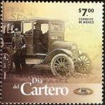 sellos de America - México -  Dia del cartero A