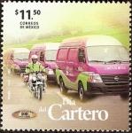 sellos de America - México -  Dia del cartero B