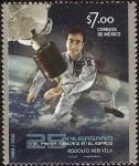 Sellos del Mundo : America : México : 25 Aniversario del primer Méxicano en el espacio A