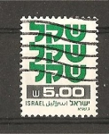 Sellos de Asia - Israel -  Serie Basica.