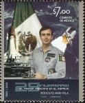 Stamps Mexico -  25 Aniversario del primer Méxicano en el espacio B