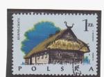 Sellos de Europa - Polonia -  kurpie-chata
