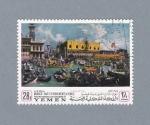 Stamps Yemen -  Venecia