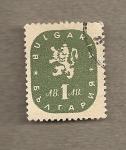 Sellos de Europa - Bulgaria -  Escudo