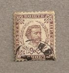 Stamps Europe - Montenegro -  Principe Nicolas I