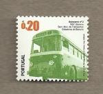 Stamps Portugal -  Transportes públicos urbanos