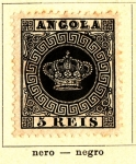 Sellos de Africa - Angola -  Posesion Portuguesa 1870-77