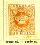 Sellos del Mundo : Africa : Angola : Posesion Portuguesa 1870-77