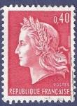 Stamps France -  FRA Yvert 1536B Marianne de Cheffer 0,40