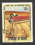 Stamps Africa - Burundi -  5º anivº del banco africano del desarrollo