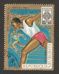 Stamps Africa - Burundi -  olimpiadas México 1968