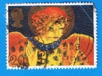 Stamps United Kingdom -  Angel