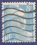 Sellos de Europa - Francia -  FRA Yvert 810 Marianne de Gandon 8