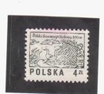 Stamps Poland -  polonia s. XVI