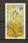 Stamps Germany -  Actrices Celebres