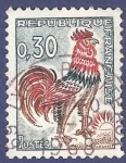 Stamps : Europe : France :  FRA Yvert 1331A Coq de Decaris 0,30