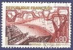 Sellos de Europa - Francia -  FRA Yvert 1583 Barrage de Vouglans 0,80